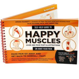 Tiger Tail Happy Muscles Foam Roller Guide Book