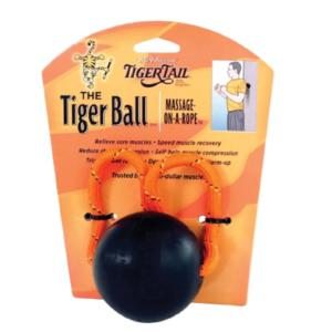 "Tiger Tail Tiger Ball 3"" Massage Ball Foam Roller"