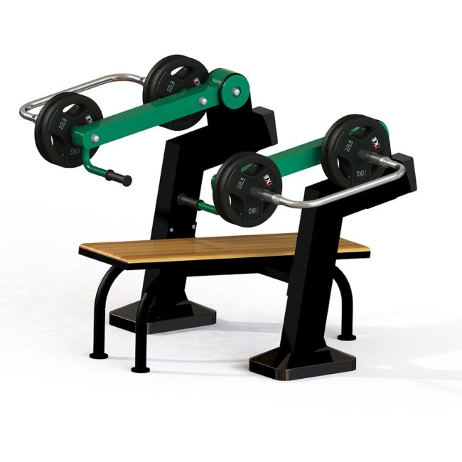 Bench Press - Plate Loaded Outdoor