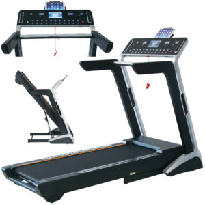 Home Treadmill - Console, Folded and Side View