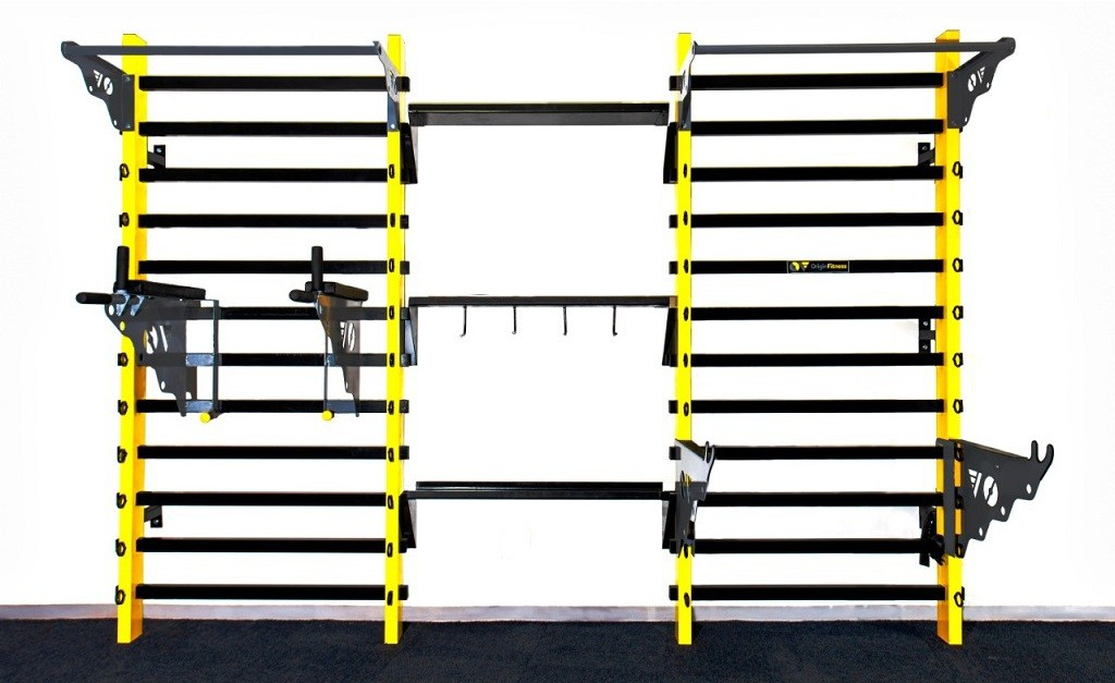 Gym Wall 2 Unit Layout - Gym Equipment